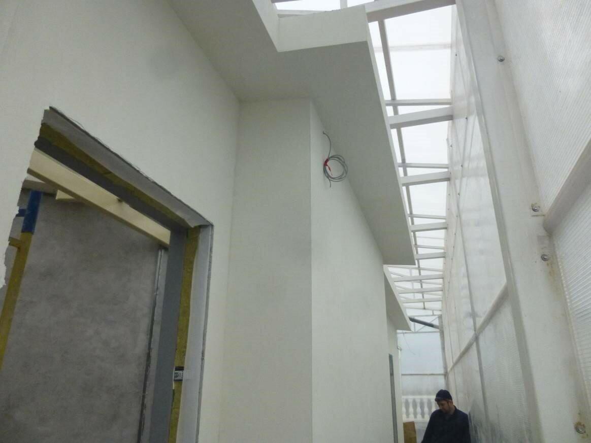 схема вентиляции 3 х уровнего гаража