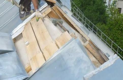 Теплоизоляция покрытия минераловатными плитами